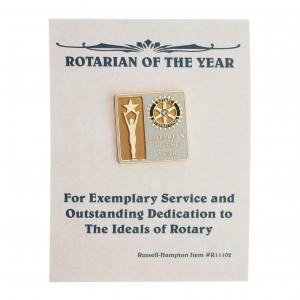 Årets rotarianer